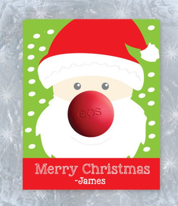 Items Similar To Merry Christmas EOS Cards- Eos Holiday