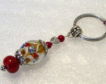 999 - Beaded Key Ring