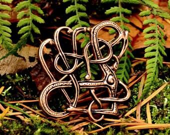 Trollaskogur brooch replica - [07 Br Trolla/N1 B-4]