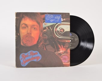 "PAUL McCARTNEY and Wings - ""Red Rose Speedway"" vinyl record"