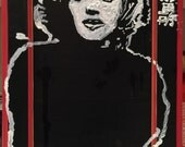 Reclaimed Wood Art Marilyn Monroe Art by Matt Pecson Wood Wall Art Acrylic Painting Pop Art Painting Urban Art