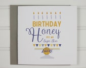 Los Angeles Lakers, NBA Basketball Birthday Card, Sports, Indiana Pacers, LA Clippers, Memphis Grizzlies, Miami Heat, Milwaukee Bucks, Dad