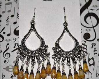 Picasso Fringe Earrings