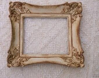 Vintage Picture Frame Cottage Chic Hollywood Regency Wedding Decor
