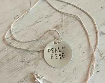 Custom Bible Verse Necklace