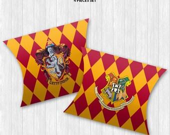Hogwarts Pillow Boxes