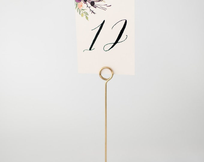 nellie table numbers  //  lola louie paperie