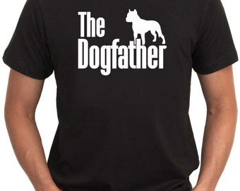 The dogfather American Staffordshire Terrier T-Shirt