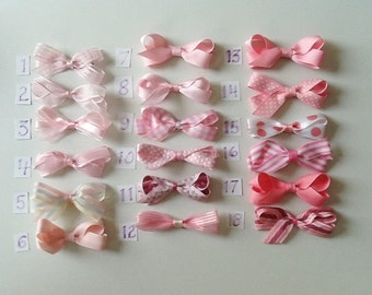 Play-Time Small Pink Bows