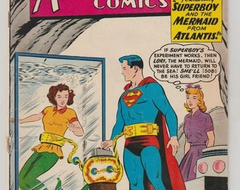 Adventure Comics; Vol 1, 280 Silver Age Comic Book. VG+. January 1961.  DC Comics
