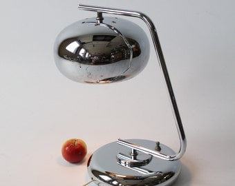 1970 DEEP CHROME table lamp