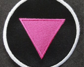 Queer Pink Triangle Patch