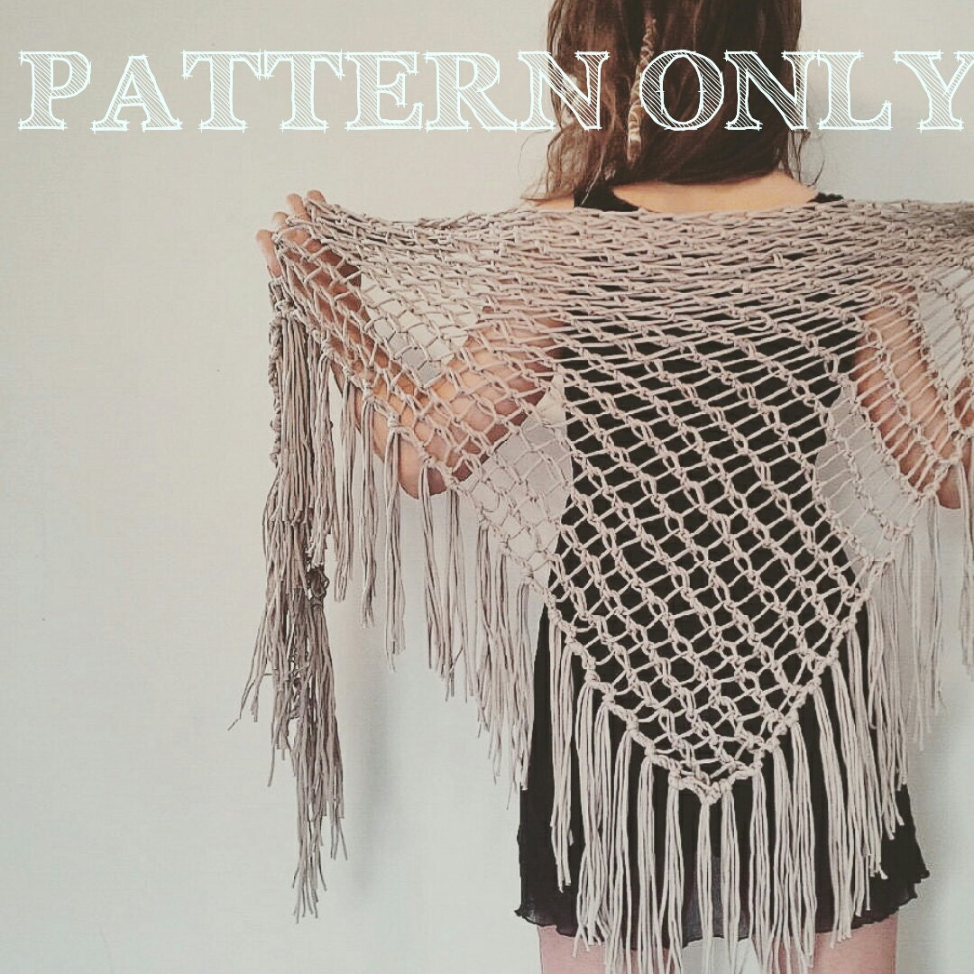 Knitting Knotty : Knitting pattern for the knotty scarf with fringe by