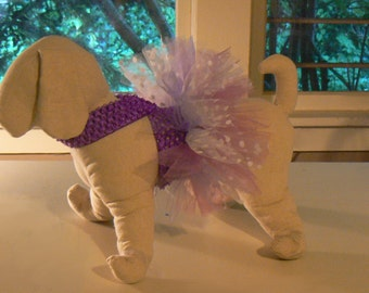 Birthday Pet Tutu  / Pet Birthday Tutu / Colorful fun Pet Tutu