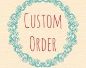 Custom Order for Desi • Double-Stranded Crochet Chunky Infinity Scarf