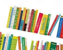 Book washi tape / Bookshelf washi tape