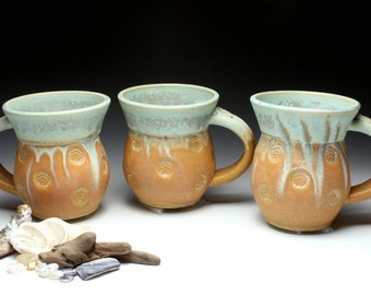 Stamped Coffee Mugs