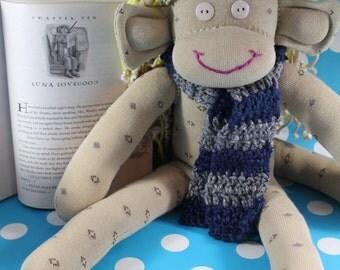 Sock Monkey / Luna Lovegood Inspired / Harry Potter / Ravenclaw / Nursery Decor / Baby Shower Gift, Decor / Harry Potter Gift / Baby Gift