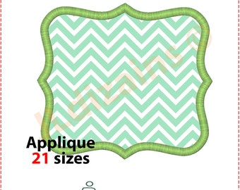 Frame Applique Design. Embroidery pattern frame. Embroidery applique frame. Embroidery frame. Applique frame. Machine embroidery design