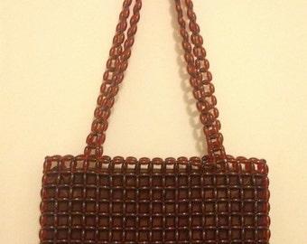Vintage 70's   Beaded Bag