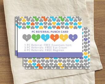 R+F Referral Punch Card