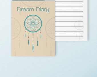 Dream Diary 7 x 9 Happy Planner PDF Printable Inserts, Erin Condren Inserts Dream Journal Refills Diary Inserts Mambi. Instant Download.