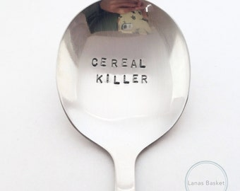 Cereal Killer Stainless Steel Spoon