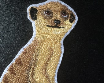 Meerkat Patch Embroidery