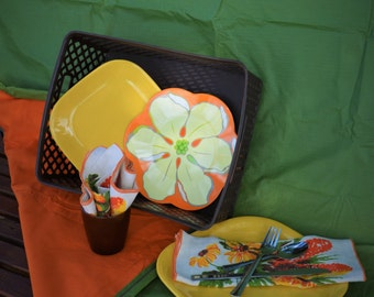 Picnic Basket/Blanket Set- Chevy Truck Special