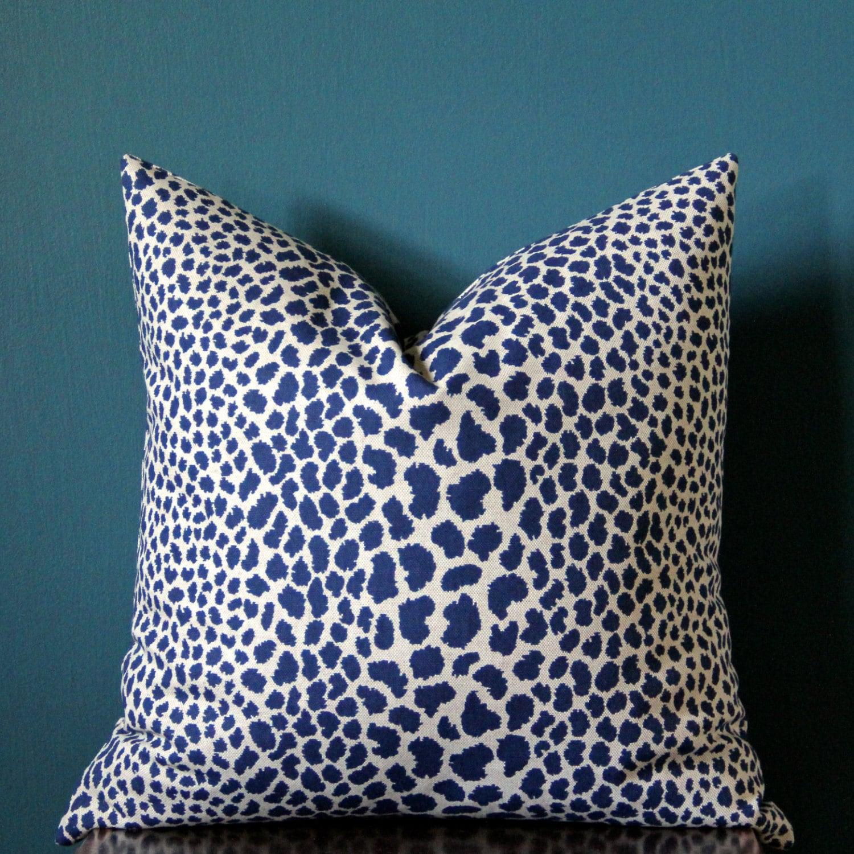 Leopard Pillow Cover Cheetah Pillow Cover Leopard Print