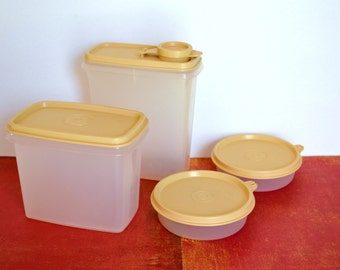 Tupperware Storage Containers Set - 8 Pieces