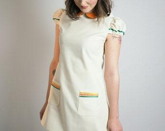 The Jane Birkin dress with Peter pan collar