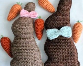 Chocolate Bunnies - Easter Decor
