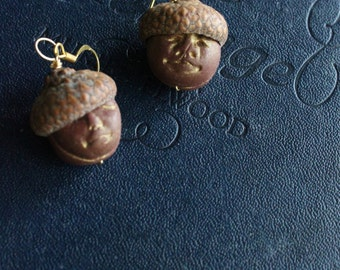 Little Neighbors Acorn Earrings