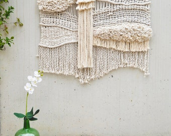 Contemporany Macrame wall hanging / wall art /heardboard