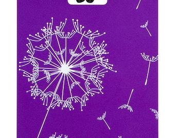 YaYtag - Trendy luggage ID tag - 2022 Day Dreaming Purple