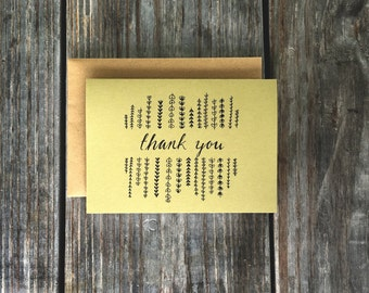 Thank You Cards, Wedding Thank You Cards, Thank You Cards Set
