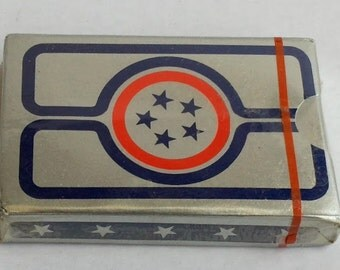 Vintage 1970s American Airlines // Admirals Club Playing Cards // Sealed