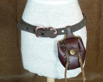 1/3 Scale Stiched Leather Pouch for SD BJD