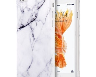 White Marble case.iPhone 6 Plus case.Clear iPhone 6s Plus case.Marble iPhone 6 case.Marble iPhone 6s case.Marble phone case.iPhone 6 case