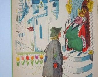 Hans Christian Andersen The Swineherd illustrated by Gustav Hjortlund