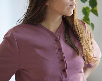 Cropped shirt - Le Jourdain