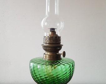 Vintage Oil Lamp Etsy