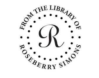 Embosser - Custom Embossing Seal - Library Embosser - Booklover - Book Embosser