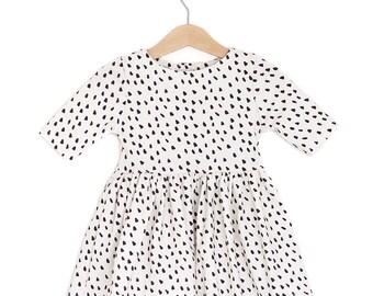 Dalmatian Organic Cotton Baby Dress