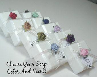 Wedding favor soap Etsy