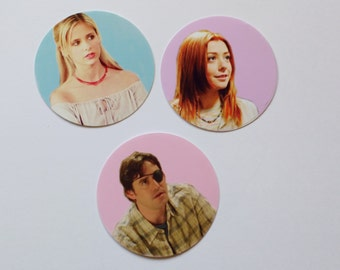 Buffy The Vampire Slayer Sticker Set