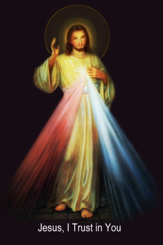 jesus divine mercy english 3 digital diy images by gabbydreams