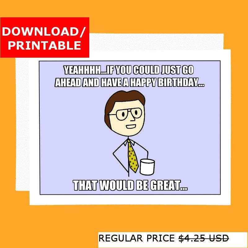 funny coworker card  etsy, Birthday card