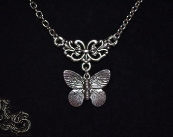 "Necklace ""Butterfly"""